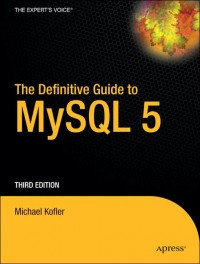Image of The Definitive Guide to MySQL 5
